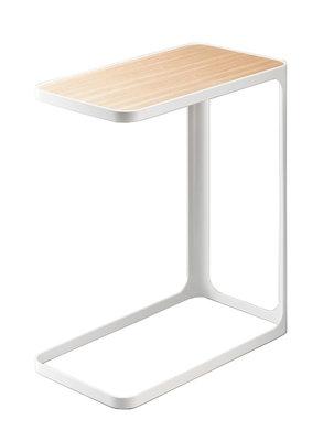 Bijzet tafel wit frame